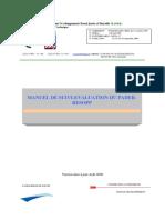 Manuel de Suivi-evaluation Version Mise a Jour 1