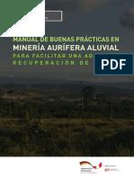 Manual de Buenas Prácticas en Minería Aurífera Aluvial Para Facilitar Una Adecuada Recuperacion de Áreas FINAL 3