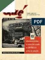 Biblioteca Nacional Revista Qué sucedió en 7 días