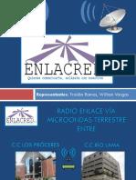 Radio Enlace c.c Los Proceres Hasta c.c Rio Lama