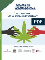 VIII Debate Drogodependencias El Cannabis