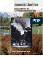 Environmental Justice NEPA Ej Guidance Nepa Ceq1297