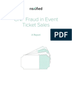 Event Ticket Sales