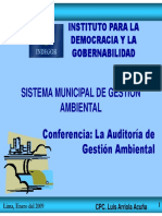 Expo Auditor Gestion Ambiental