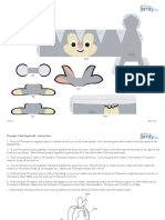 Thumper Cutie Papercraft Printable 0210
