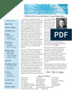 November 2007 Tidings Newsletter, Temple Ohabei Shalom