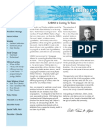 December 2007 Tidings Newsletter, Temple Ohabei Shalom