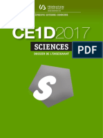 Evaluation Certificative - CE1D 2017 - Sciences - Dossier de l Enseignant Et Guide de Correction (Ressource 13996)