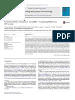 A Curcumina Inibe a Adipogênese Induzida Pelo Benzilbutil Ftalato Em Células 3T3-L1