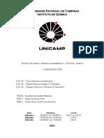 APOSTILA - Qu_mica Org_nica Experimental II UNICAMP