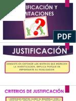 Justificación y Limitaciones