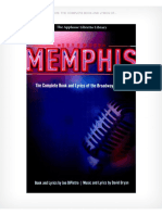 Memphis Broadway Musical Script Libretto