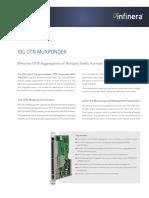 Infinera Ds 10g Otn Muxponder Otn Aggregation