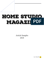 Home Studio Magazine Samples
