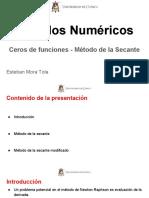 MN_Método de La Secante_L5