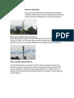 10 Monumentos Nacionales de Guatemala