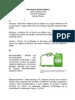 Diccionario Biotecnologico