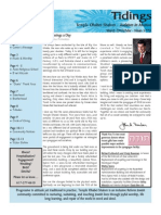 March 2010 Tidings Newsletter, Temple Ohabei Shalom