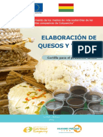 Elaboracion de Queso y Yogurt