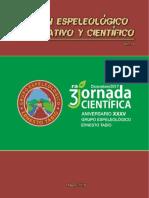 Boletín Espeleológico Informativo y Científico No.14