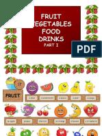 Fruit Vegetables Food Drinks Part1 Games 8383