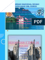 113466- 113975 - 113981 Exposicion de Rocas Metamorfica