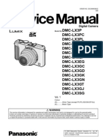 Panasonic LX3 Service Manual
