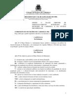 Lei Complementar n20.2006 (Define o Plano Diretor de Desenvolvimento Integrado)