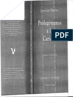 MARION, J. L., Prolegómenos a La Caridad, Instituto Emmanuel Mounier, Madrid, 1993