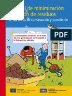 Manual Minimizacion y Gestion Residuos en Obra ITEC - Proyecto Life