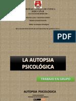 Medicina Legal-Auptosia Psicológica