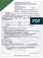 Examen Final Matematica Discreta 2010-0 - Moquillaza
