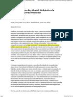 Biólogo Stephen Jay Gould_ O Detetive Da Evolução _ Superinteressante