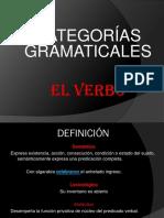 Diapositivas El Verbo