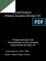 ARTISTAS CONTEMPORANEOS