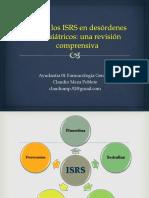 Rol de Los ISRS en Desórdenes Psiquiátricos