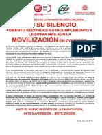 2392392-Comunicado Unitario Sin Contestacion Carta Fomento 20-4-2018