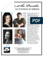 Concerts at the Presidio Apr 10 Songs