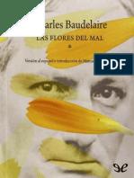 Baudelaire, Charles - Las Flores Del Mal (Trad. Manuel J. Santayana) [23785] (r1.1)