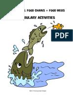 ecosystemsfoodchainfoodwebvocabularyactivities