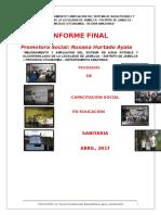 Informe Final Jamalca 28-04-2017