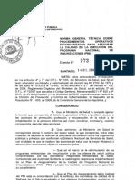 Norma Gral. Procedimientos POE Diciembre MINSAL 2010