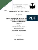 310232684 Conocimiento de Tecnicas Analiticas Parte 1 Fundamentos de Espectrofotometria