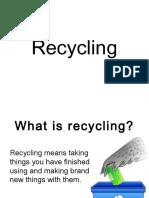 Recycling Presentacion