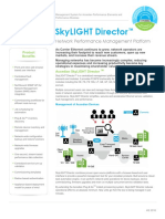Accedian SkyLIGHT Director Datasheet 2016 4Q 1