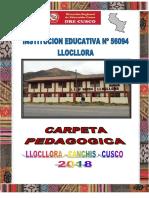 CARATULA CARPETA