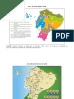 Mapa de Zonas Del Ecuador