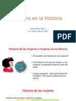 Género en La Historia