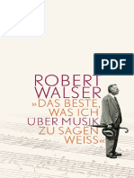 _Das Beste, Was Ich Uber Musik - Robert Walser