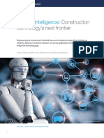 Artificial Intelligence Construction Technologys Next Frontier